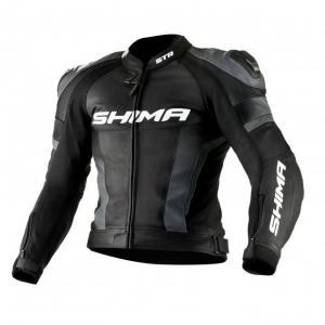 Bunda na motocykel Shima STR čierno-šedá výpredaj