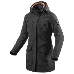Dámska bunda na motocykel Revit Metropolitan čierna výpredaj