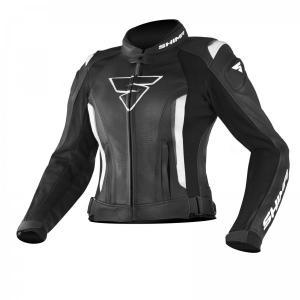Dámska bunda na motocykel Shima Miura čierna výpredaj