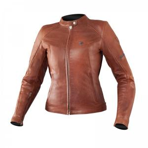 Dámska bunda na motocykel Shima Monaco hnedá