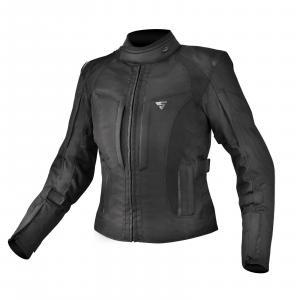 Dámska bunda na motocykel Shima Volante čierna výpredaj
