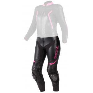 Dámske nohavice Tschul 536 čierno-ružové