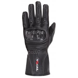 Dámske rukavice na motocykel Tschul 211 čierne
