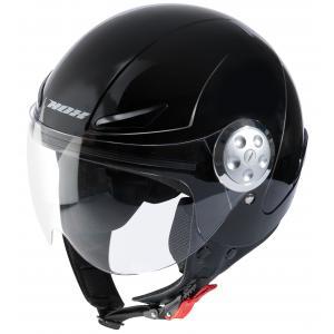 Detská prilba na motocykel otvorená NOX N216 čierna výpredaj