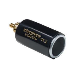 DIN adaptér z malej moto zásuvky na automobilovú
