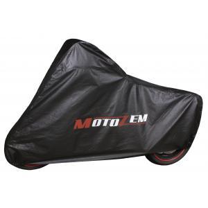 Garážová plachta na motocykel Motozem - čierna