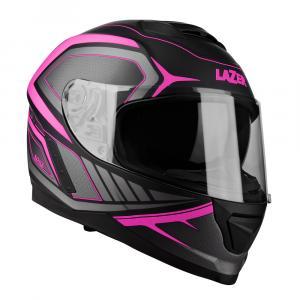 Integrálna prilba na motocykel Lazer Rafale Hexa čierno-ružová