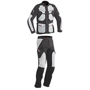 Kombinéza na motocykel IXON Crosstour čierno-šedá