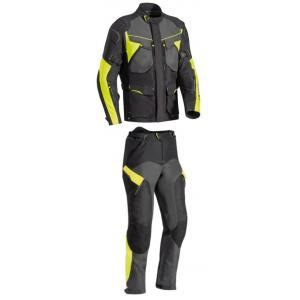 Kombinéza na motocykel IXON Crosstour čierno-žltá