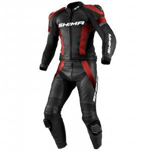 Kombinéza na motocykel Shima STR čierno-červená výpredaj