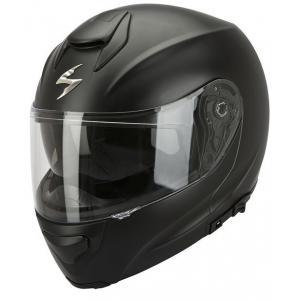 Moto prilba odklápacia Scorpion EXO-3000 čierna matná