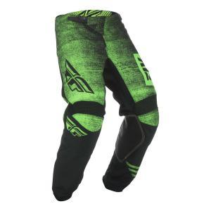 Motokrosové nohavice FLY Racing Kinetic NOIZ 2019 - USA čierno-fluorescenčno zelené