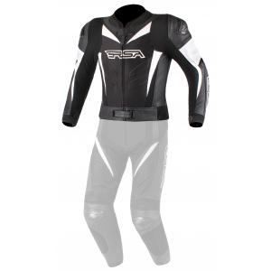 Pánska bunda na motocykel RSA GPX čierno-biela