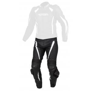 Pánske nohavice na motocykel RSA Imola čierno-biele výpredaj