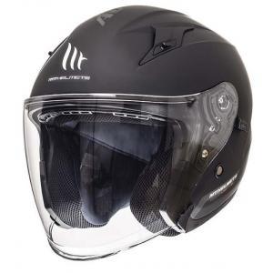 Prilba na motocykel otvorená MT Avenue SV čierna matná