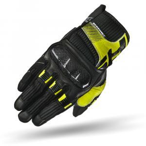 Rukavice na motocykel Shima X-Breeze čierno-šedo-fluorescenčno žlté