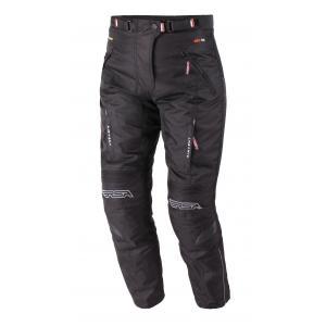 Skrátenej dámske nohavice na motorku RSA Racer 2 čierne - II. akosť