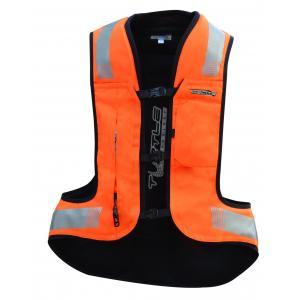 Airbagová vesta HELITE Turtle 2 fluorescenčno oranžová