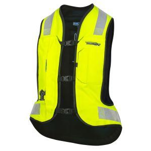 Airbagová vesta HELITE Turtle 2 fluorescenčno žltá
