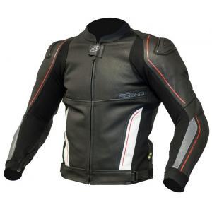 Bunda na motocykel Ozone Volt čierno-biela výpredaj