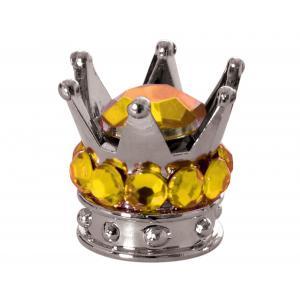 Čiapočky na ventily Oxford Crown strieborno-zlaté