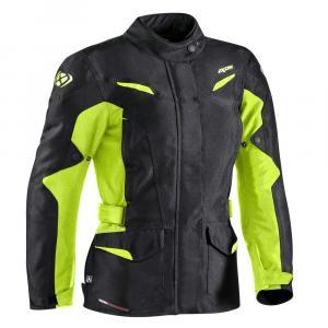 Dámska bunda na motocykel IXON Summit 2 čierno-fluo žltá výpredaj