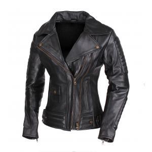Dámska bunda na motocykel křivák Street Racer Amber - II. akosť