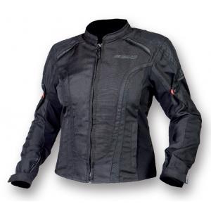 Dámska bunda na motocykel Ozone Edge II čierna výpredaj