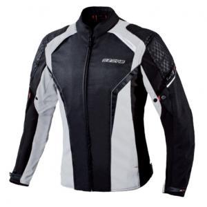 Dámska bunda na motocykel Ozone Edge II čierno-šedá výpredaj