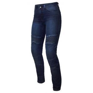 Dámske jeansy na motocykel Ozone Agness II modré