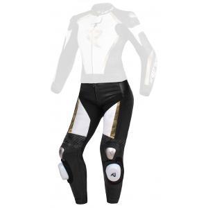 Dámske nohavice Street Racer Kiara čierno-bielo-zlaté - II. akosť