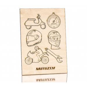 Drevené ozdoby MotoZem