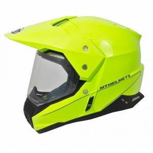 Enduro prilba MT Synchrony Duosport SV fluorescenčno-žltá