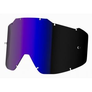 Modro-irídiové sklo do okuliarov Shot Assault/Iris