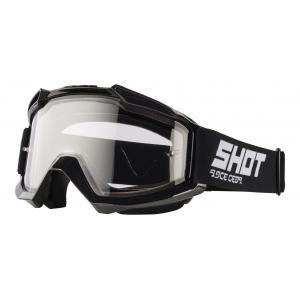 Motokrosové okuliare Shot Assault Enduro čierne