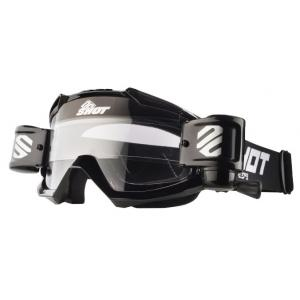 Motokrosové okuliare Shot Assault Roll-Off čierne