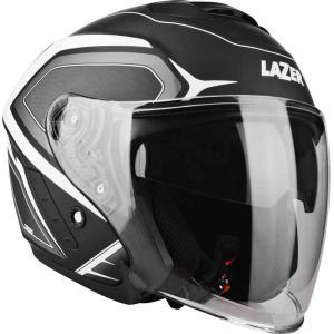 Otvorená prilba na motocykel Lazer Tango Hexa čierno-biela