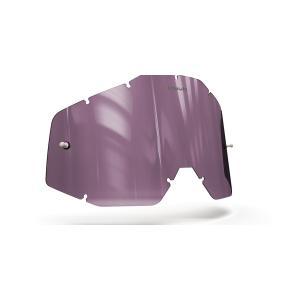 Plexisklo Onyx pre motokrosové okuliare 100 % Racecraft/Accuri/Strata (fialové s polarizáciou)