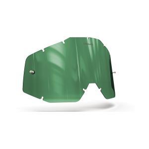 Plexisklo Onyx pre motokrosové okuliare 100 % Racecraft/Accuri/Strata (zelené s polarizáciou)