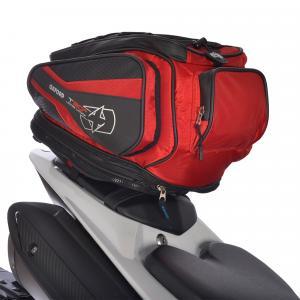 Tankbag a taška na sedadlo Oxford T30R Time Tank 'n' tailer čierno-červená