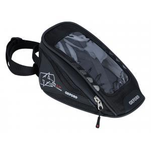 Tankbag na motocykel Oxford M1R Micro čierny