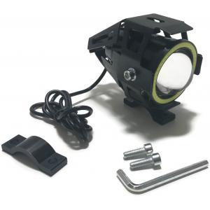 Univerzálne prídavné LED svetlo s LED krúžkom