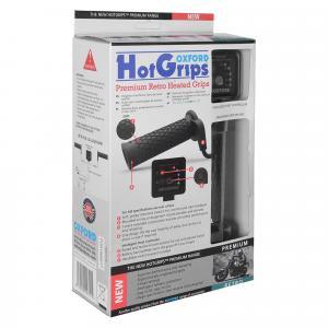 Vyhrievané gripy Oxford Hotgrips Premium New Retro