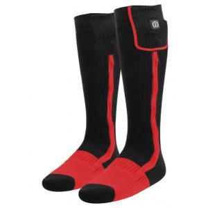 Vyhrievané ponožky KLAN-e čierno-červené