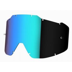 Zeleno-irídiové sklo do okuliarov Shot Assault/Iris