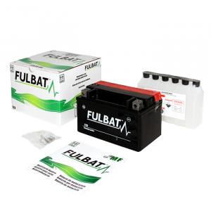 Bezúdržbový motocyklový akumulátor FULBAT FT12A-BS (YT12A-BS)