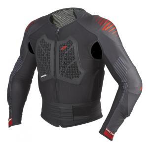 Chránič tela Zandona Action X6 čierno-červený 160 - 169 cm