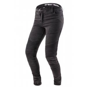 Dámske jeansy na motocykel Street Racer Spike čierne výpredaj