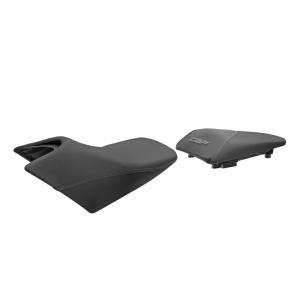 Komfortné sedadlo SHAD SHH0C111CH vyhrievané čierno/šedé,šedá šev  (bez loga)
