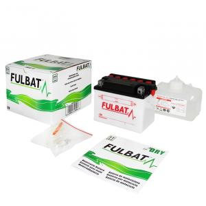 Konvenčný akumulátor ( s kyselinou) FULBAT FB10L-A2  (YB10L-A2) Vrátane balenia kyseliny